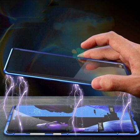 عکس محافظ 360 درجه شیشه ای مگنتی گوشی سامسونگ Galaxy Note 10 Lite
