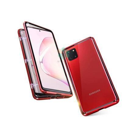 خرید محافظ 360 درجه شیشه ای مگنتی گوشی سامسونگ Galaxy Note 10 Lite
