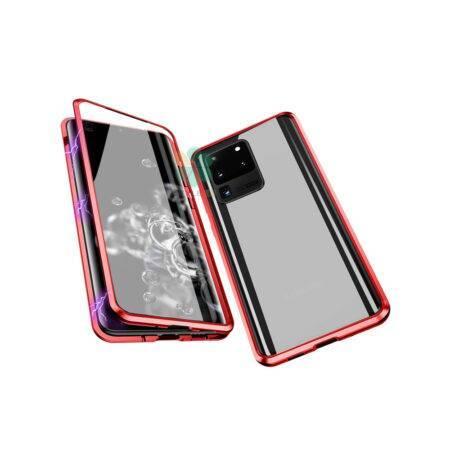 خرید محافظ 360 درجه شیشه ای مگنتی گوشی سامسونگ Galaxy S20 Ultra