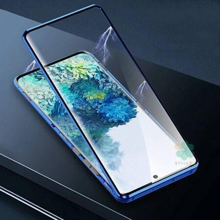 عکس محافظ 360 درجه شیشه ای مگنتی گوشی سامسونگ Galaxy S20 Ultra