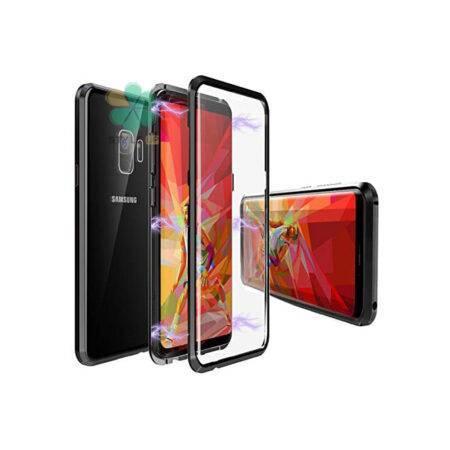 خرید محافظ 360 درجه شیشه ای مگنتی گوشی سامسونگ Galaxy S9