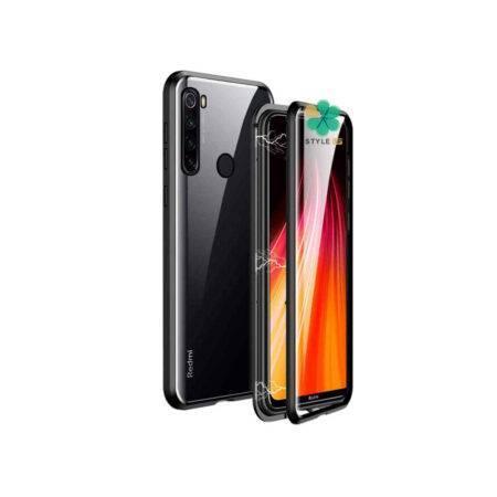 خرید محافظ 360 درجه شیشه ای مگنتی گوشی شیائومی Redmi Note 8