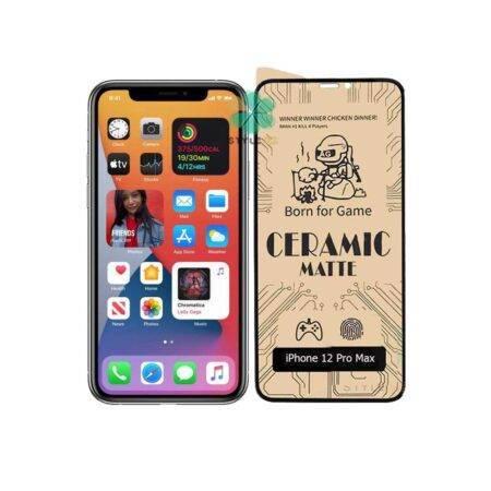خرید گلس سرامیکی مات گوشی اپل آیفون Apple iPhone 12 Pro Max