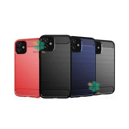 خرید قاب کربنی گوشی اپل آیفون Apple iPhone 11 طرح Metal