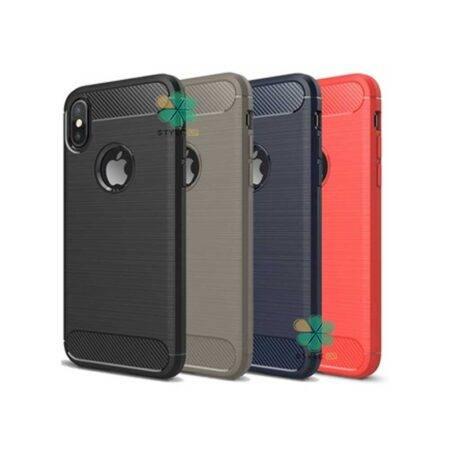 خرید قاب کربنی گوشی اپل آیفون Apple iPhone X / XS طرح Metal