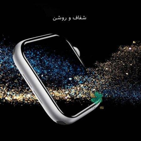 خرید محافظ صفحه گلس نیلکین ساعت اپل واچ Apple Watch 38mm مدل AW+ 3D