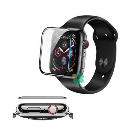 خرید محافظ صفحه گلس نیلکین ساعت اپل واچ Apple Watch 40mm مدل AW+ 3D