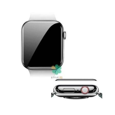 خرید محافظ صفحه گلس نیلکین ساعت اپل واچ Apple Watch 44mm مدل AW+ 3D