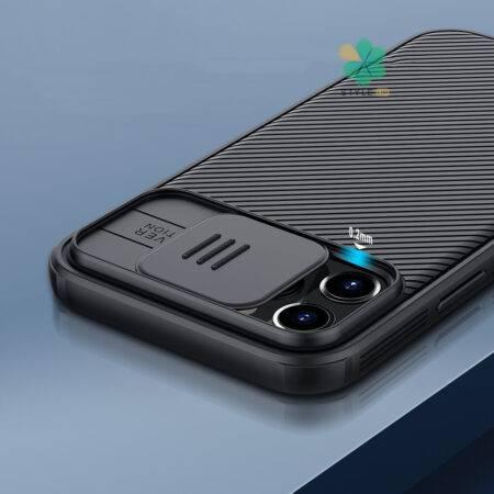 عکس قاب محافظ نیلکین گوشی آیفون iPhone 12 Pro مدل CamShield Pro