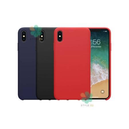خرید قاب سیلیکونی نیلکین گوشی آیفون iPhone XS مدل Flex Pure