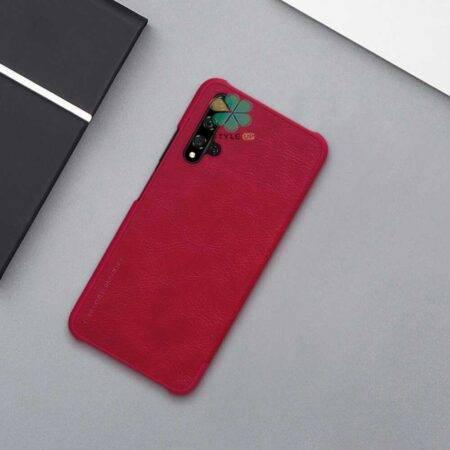عکس کیف چرمی نیلکین گوشی هواوی Huawei Nova 5T مدل Qin
