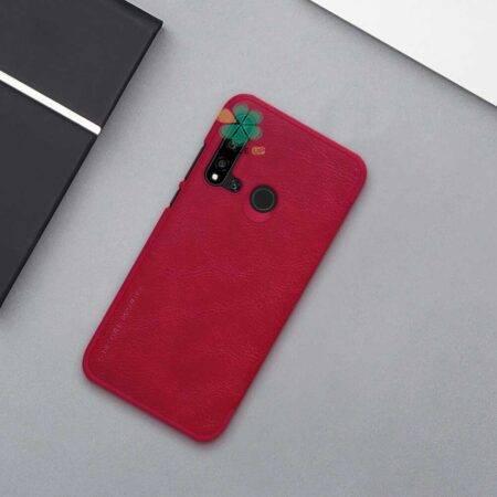 عکس کیف چرمی نیلکین گوشی هواوی Huawei Nova 5i مدل Qin