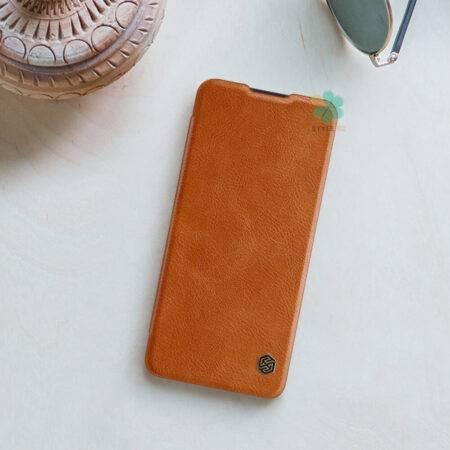 عکس کیف چرمی نیلکین گوشی وان پلاس OnePlus Nord مدل Qin