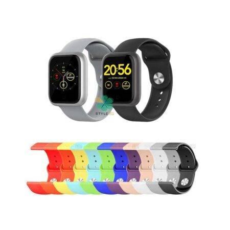 خرید بند سیلیکونی ساعت اومتینگ Omthing E-joy Smart Watch مدل دکمه ای