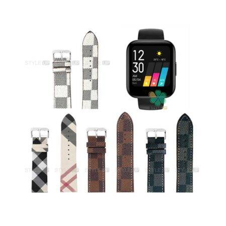 خرید بند ساعت ریلمی واچ Realme Watch طرح لویی ویتون