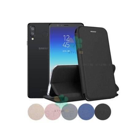 خرید کیف کلاسوری چرمی گوشی سامسونگ Samsung A8 Star / A9 Star