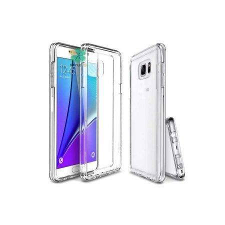 خرید قاب گوشی سامسونگ Samsung Galaxy Note 5 مدل ژله ای شفاف
