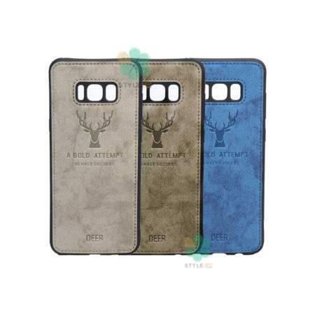 خرید قاب گوشی سامسونگ Samsung Galaxy S8 Plus پارچه ای طرح گوزن