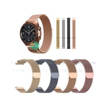 خرید بند ساعت سامسونگ Samsung Galaxy Watch 3 41mm مدل Milanese