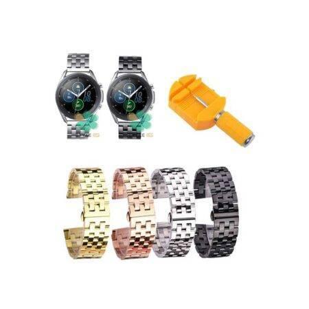 خرید بند ساعت سامسونگ Galaxy Watch 3 45mm استیل 5Bead