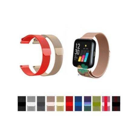 خرید بند استیل ساعت ریل می واچ Realme Watch مدل New Milanese