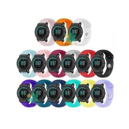 خرید بند سیلیکونی ساعت تیک واچ Ticwatch E2 مدل دکمه ای