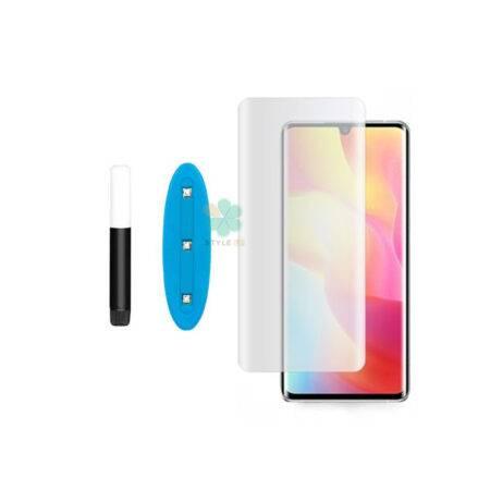 خرید گلس مات UV گوشی شیائومی Xiaomi Mi Note 10 Lite