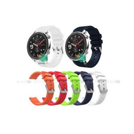خرید بند سیلیکونی ساعت شیائومی Xiaomi Amazfit GTR Lite طرح گلکسی