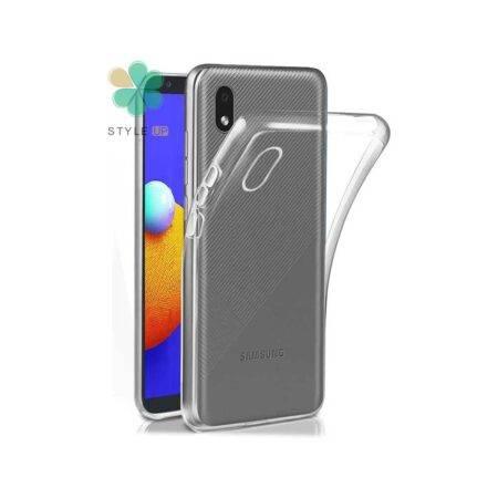 خرید قاب گوشی سامسونگ Samsung Galaxy A01 Core مدل ژله ای شفاف
