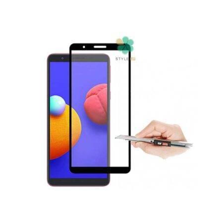 تصاویر گلس گوشی سامسونگ Samsung Galaxy A01 Core مدل تمام صفحه