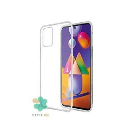 خرید قاب گوشی سامسونگ Samsung Galaxy M31s مدل ژله ای شفاف