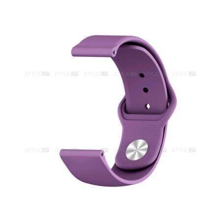 خرید بند سیلیکونی ساعت فیت بیت ورسا 2 Fitbit Versa مدل دکمه ای