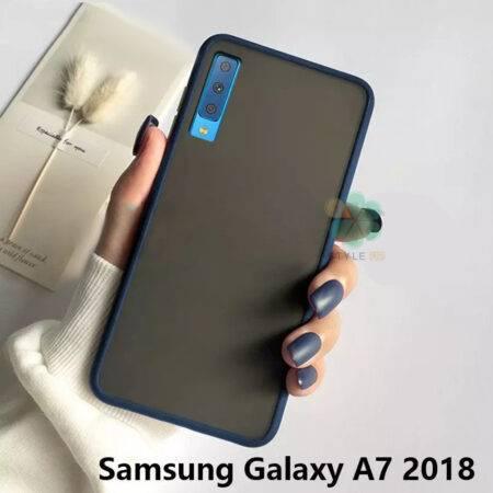 عکس کاور محافظ گوشی سامسونگ Galaxy A7 2018 مدل پشت مات