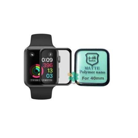 خرید گلس مات ساعت اپل واچ Apple Watch 40mm مدل Polymer Nano