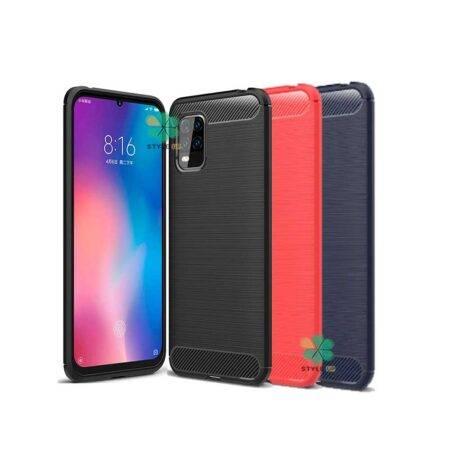 خرید قاب کربنی گوشی شیائومی Xiaomi Mi 10 Lite 5G طرح Metal