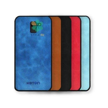 خرید قاب چرمی مینیمال گوشی سامسونگ Samsung Galaxy J6 مدل Koton