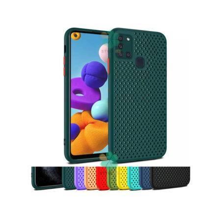 خرید قاب گوشی سامسونگ Samsung Galaxy A21s مدل سیلیکونی نایکی