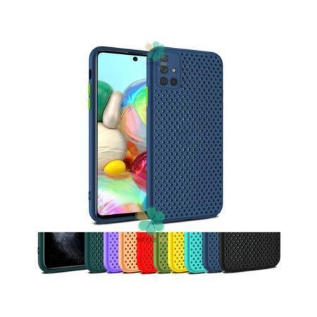 خرید قاب گوشی سامسونگ Samsung Galaxy A51 مدل سیلیکونی نایکی