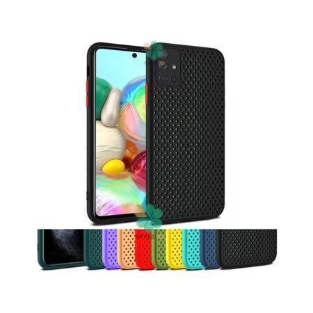 خرید قاب گوشی سامسونگ Samsung Galaxy A71 مدل سیلیکونی نایکی