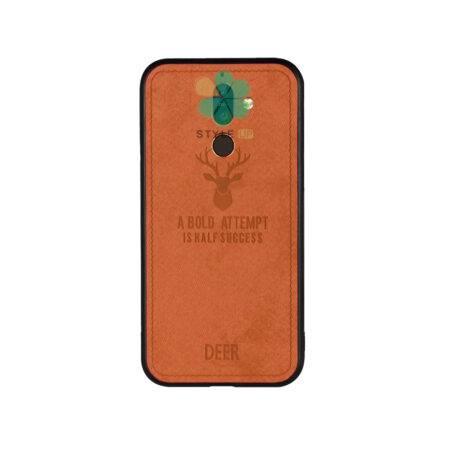 خرید قاب گوشی نوکیا Nokia 7 Plus پارچه ای طرح گوزن