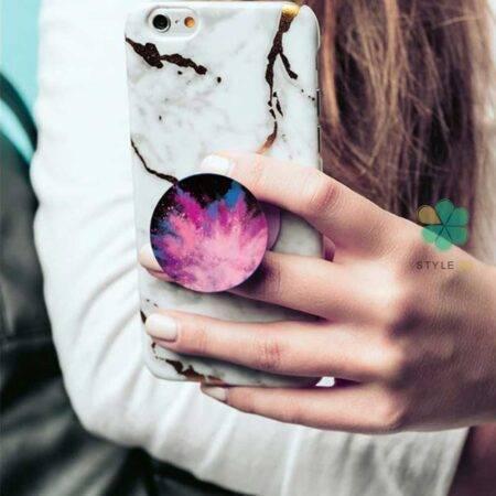 عکس هولدر انگشتی و پاپ سوکت گوشی مدل طرح دار