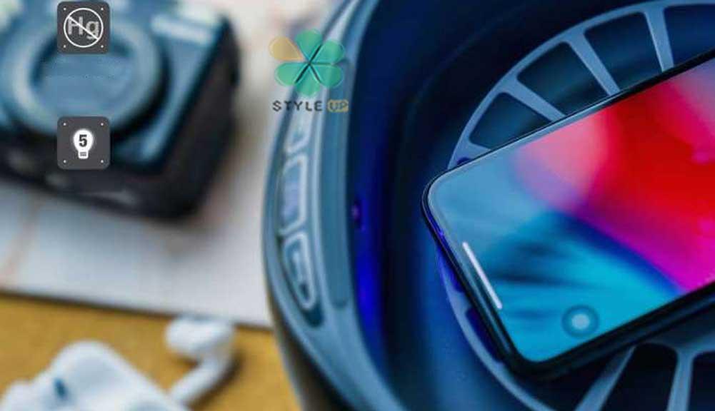 خرید جعبه ضدعفونی کننده UV مدل Powerology Universal