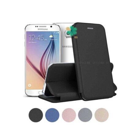 خرید کیف کلاسوری چرمی گوشی سامسونگ Samsung Galaxy S6