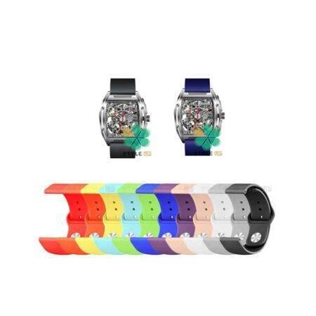 خرید بند سیلیکونی ساعت مکانیکی شیائومی Xiaomi Ciga Design مدل دکمه ای