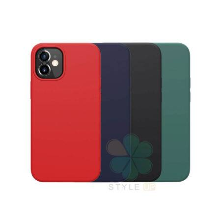 خرید قاب سیلیکونی نیلکین گوشی آیفون Apple iPhone 12 Mini مدل Flex Pure