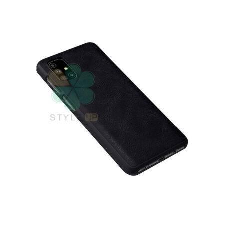 خرید کیف چرمی نیلکین گوشی سامسونگ Samsung Galaxy M51 مدل Qin