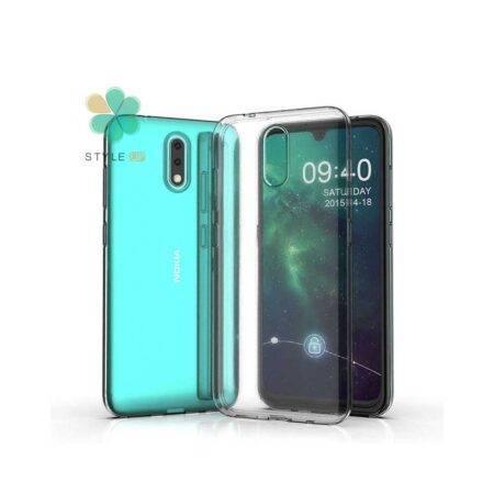 خرید قاب گوشی نوکیا Nokia 2.3 مدل ژله ای شفاف