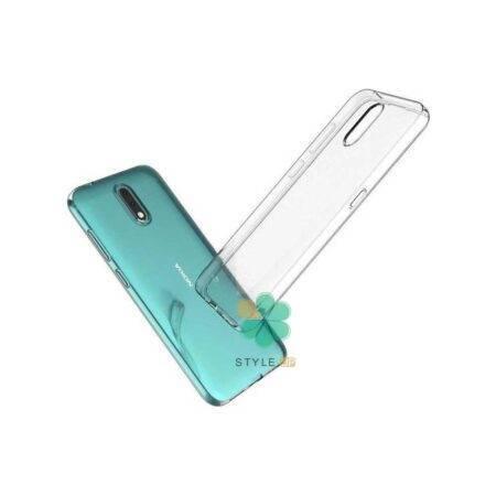 تصویر قاب گوشی نوکیا Nokia 2.3 مدل ژله ای شفاف