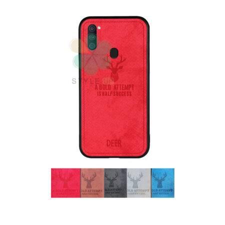 خرید قاب گوشی سامسونگ Samsung Galaxy A11 پارچه ای طرح گوزن