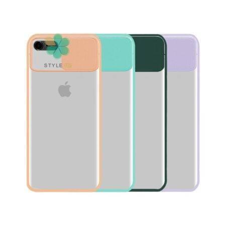 خرید قاب گوشی اپل ایفون Apple iPhone 7 / 8 مدل پشت مات کم شیلد رنگی